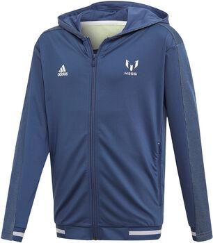ADIDAS Messi hoodie Blauw