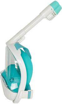3.0 white/turquoise s/m snorkelmasker