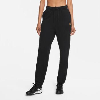 Nike Court Fleece broek Dames Zwart