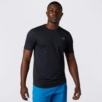 New Balance Q Speed shirt Heren Zwart