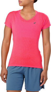 Asics V-Neck shirt Dames Roze