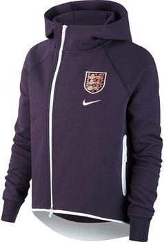 Nike Engeland Sportswear Tech Fleece jack Dames Paars