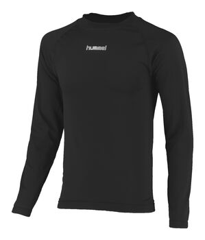 Hummel Baselayer Shirt Ls Heren Zwart