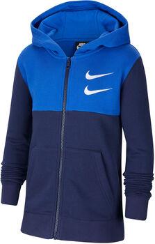 Nike Sportswear Swoosh kids hoodie Jongens Blauw