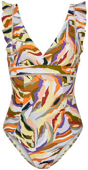 Beach Life Olivia foam badpak Dames Multicolor