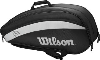 Wilson RF Team 6 Pack Tennistas Zwart