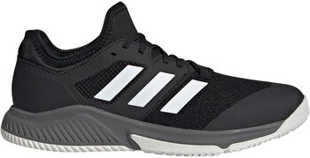 adidas Court Team Bounce Indoor Schoenen Heren Zwart