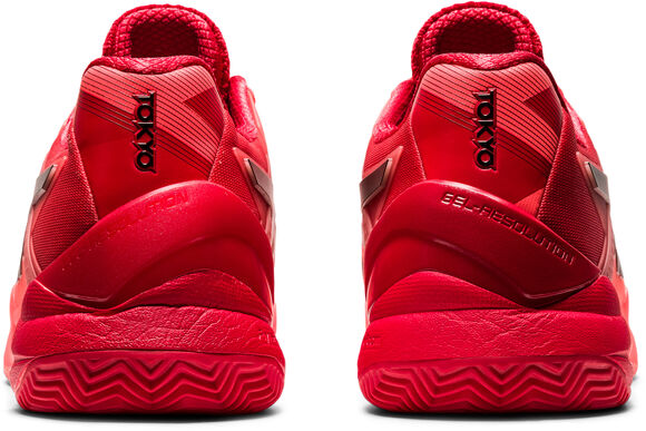 Gel-resolution 8 Clay Tokyo tennisschoenen