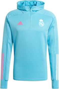 adidas Real Madrid Trainingshoodie 20/21 Heren Blauw