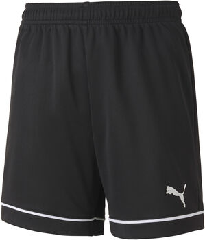 Puma Teamgoal Training kids short  Jongens Zwart