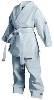 adidas K200 karatepak Heren Wit