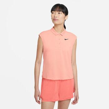 NikeCourt Victory polo Dames Oranje