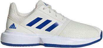 adidas CourtJam S kids tennisschoenen  Wit