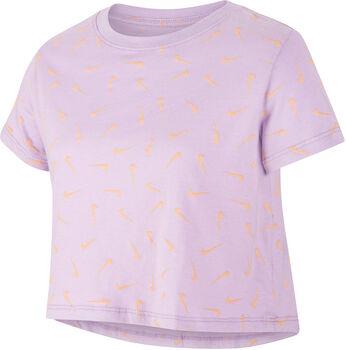 Nike Sportswear kids t-shirt Meisjes Paars