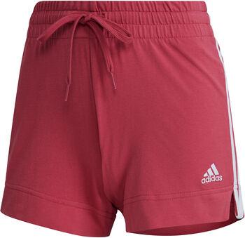 adidas Essentials Slim 3-Stripes Short Dames Roze