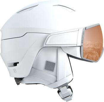 Salomon Mirage S skihelm Dames Wit