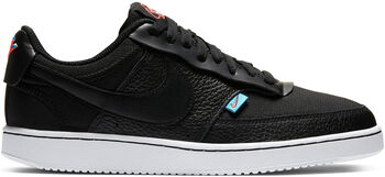 Nike Court Vision Low sneakers Dames Zwart