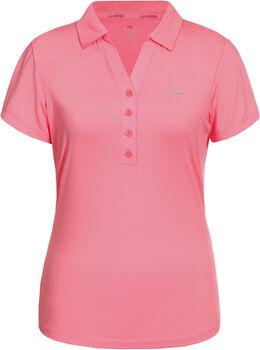 Li-Ning Naomi Melange polo Dames Roze