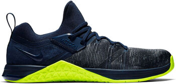 Nike Metcon Flyknit 3 trainingsschoenen Heren Blauw