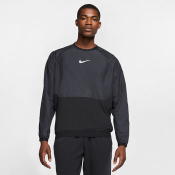 Nike Pro longsleeve Heren Zwart