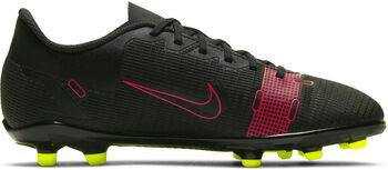Nike Mercurial Vapor 14 Club FG/MG kids voetbalschoenen Zwart