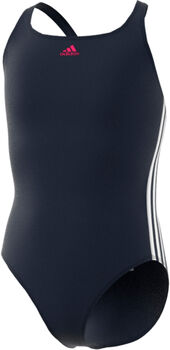 adidas Athly V 3-Stripes badpak Meisjes Blauw