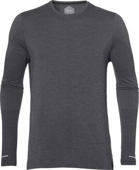 Asics Seamless LS shirt Heren Grijs