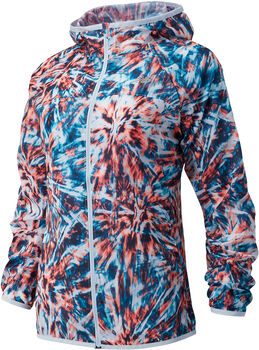 New Balance Printed Accelerate Wind jack Dames Wit