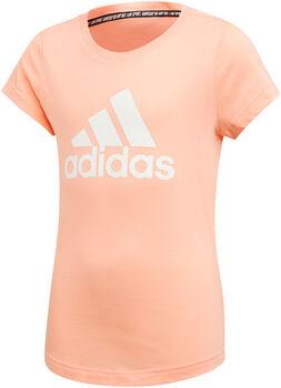 ADIDAS Badge Of Sport shirt Meisjes Rood