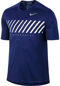 Nike Dry Miler Running shirt Heren Blauw