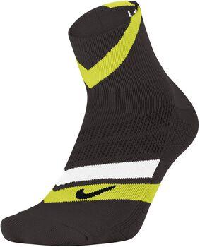 Nike Dri-FIT Cushion Dynamic Arch Quarter hardloopsokken Heren Zwart