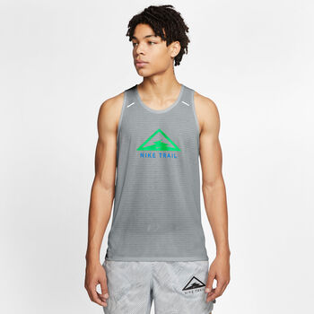 Nike Rise 365 Trail tank Heren Grijs