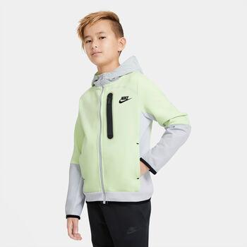 Nike Sportswear Tech Fleece kids sweater Jongens Groen