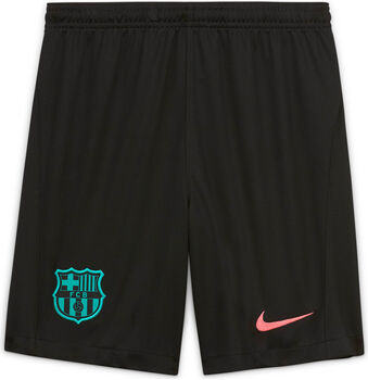 Nike FC Barcelona Stadium kids derde short 20/21 Zwart