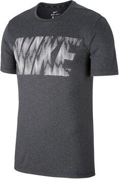 Nike Dry Training shirt Heren Zwart