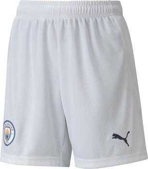 Puma Manchester City short kids Wit