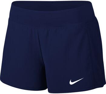 Nike Court Flex Pure Tennis short Dames Blauw