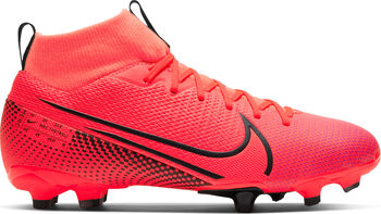 Nike Superfly 7 Academy FG/MG Jr voetbalschoenen Rood
