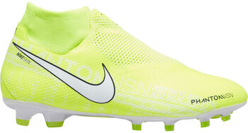 Nike Phantom Vision Pro Dynamic Fit FG voetbalschoenen Heren Geel