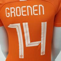 Nederland thuisshirt Groenen
