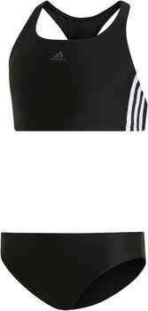 adidas 3-Stripes kids bikini Meisjes Zwart