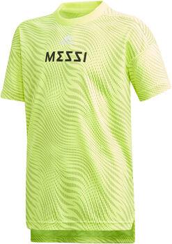 ADIDAS Messi shirt Geel