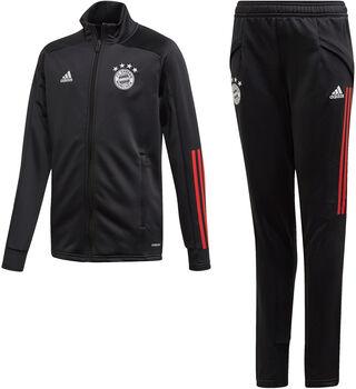 adidas FC Bayern München Trainingspak Jongens Zwart