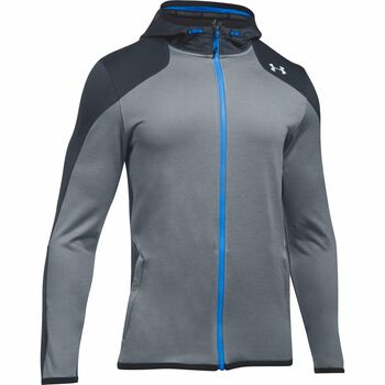 Under Armour Reactor Full Zip hoodie Heren Grijs