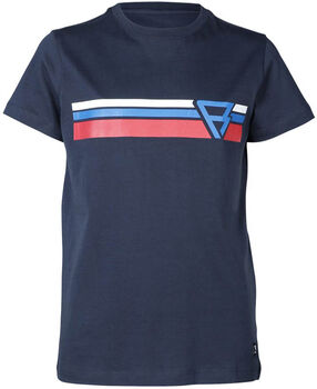 Brunotti Tim-Print kids t-shirt Jongens Blauw