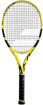 Babolat Pure Aero Unstrung tennisracket Heren Geel