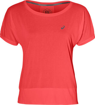 Asics Crop shirt Dames Roze