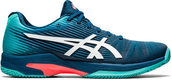 ASICS Solution Speed FF Clay tennisschoenen Heren Blauw