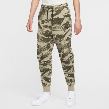 Nike Sportswear Tech Fleece joggingbroek Heren Groen