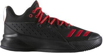 Adidas Street Jam 3 basketbalschoenen Heren Zwart